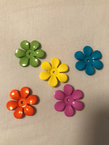 Thin Flower Bead - Set of 12