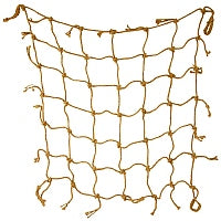 Natural Jute Climbing Net - Small Birds