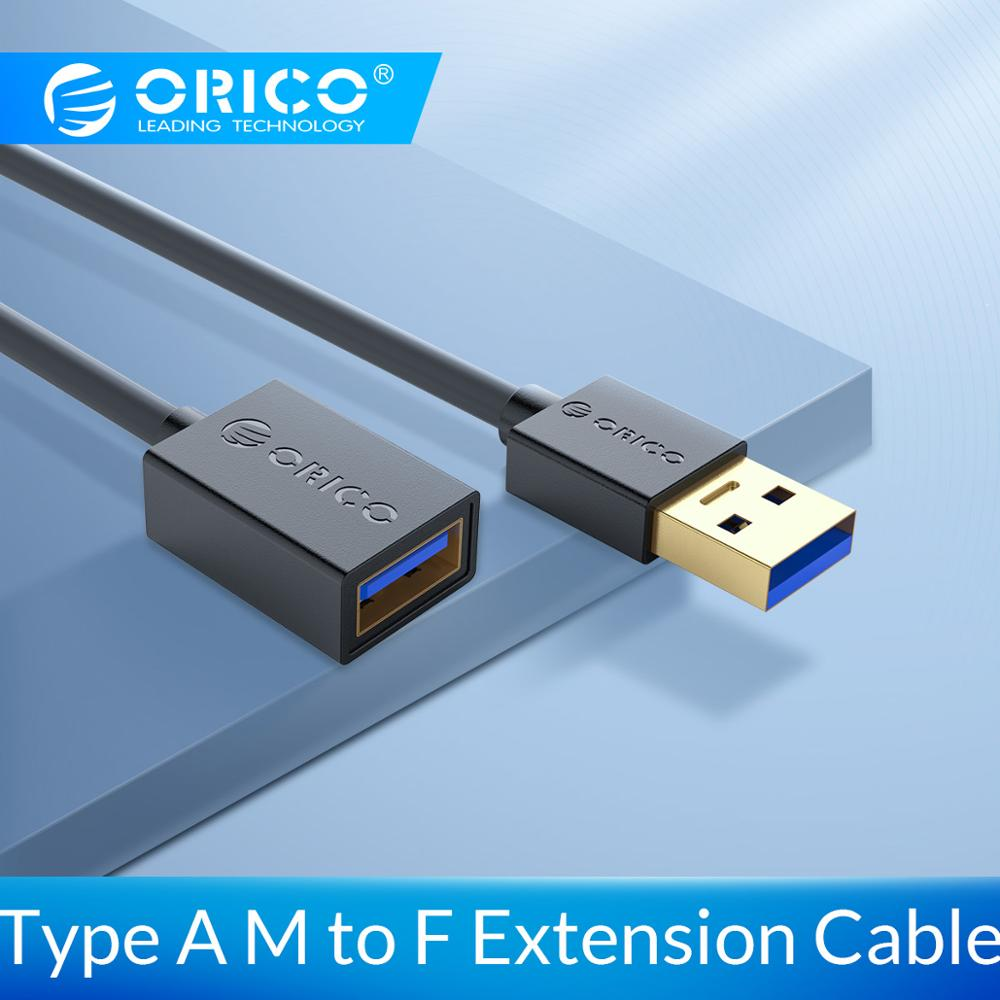 ORICO USB3.0 Extension Cable Male to Female Extender Cable USB3.0 Type A M to F Data Sync Fast Speed Cable Extended For Laptop