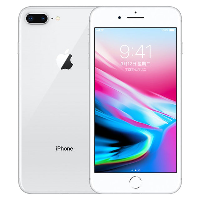 Unlocked Original Apple iPhone 8 Plus Used  Mobile phone Cell phones 3GB RAM 64/256GB ROM 5.5' 12.0 MP iOS Hexa-core