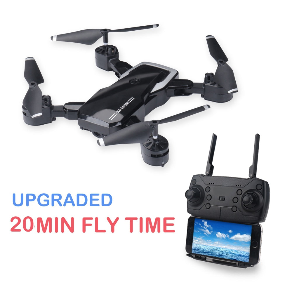 LF609 2.4G Wifi FPV RC Drone with HD camera 5MP  RC Quadcopter RTF mini Foldable long fly time 3D Flip altitude hold VS E58