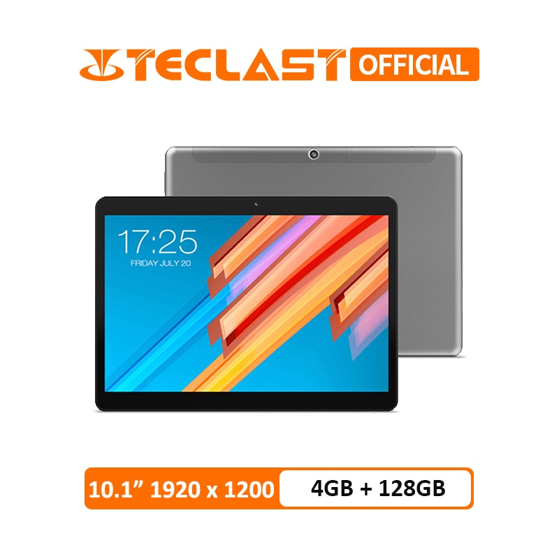 Teclast M20 4GB RAM 128GB ROM Tablet PC 10.1 inch 1920*1200 MT6797 X23 Deca Core Android 8.0 Dual 4G Phone Tablets Dual Wifi GPS