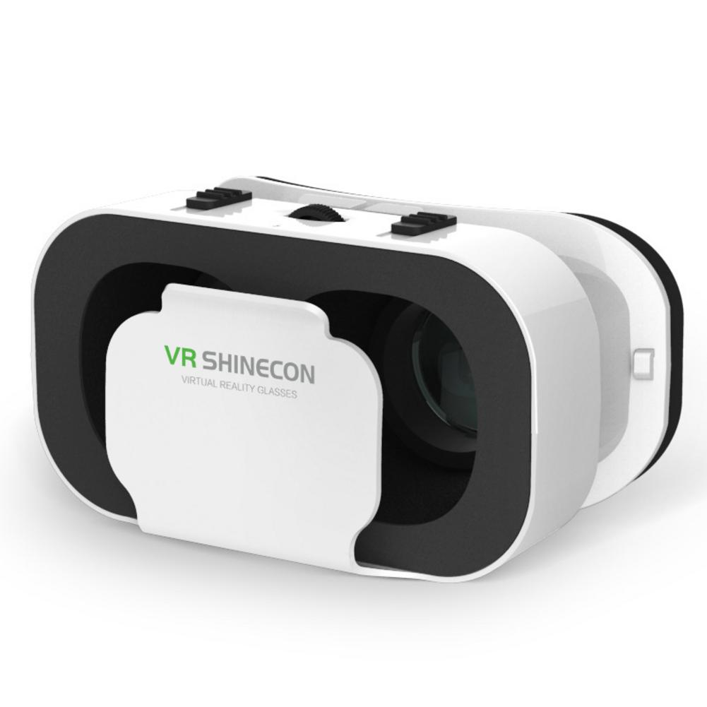 Portable VR Shinecon 5th Generations VR Glasses 3D Virtual Reality Glasses Lightweight for 4.7 to 6.0 inch Smart Phone