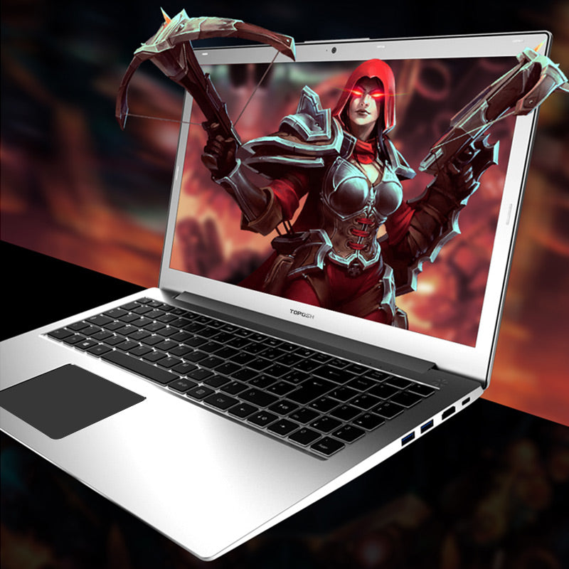 P10 Laptop 15.6 inch Intel i7-6500 Quad Core 2.5GHZ-3.1GHZ 128/256/512G SSD High speed Design Gaming Laptop Computer notebook