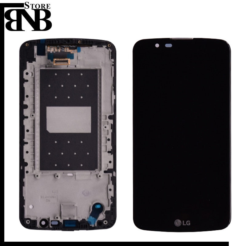 Original For LG K10 TV K10TV K430TV K410TV LCD Display with touch digitizer Assembly with /without frame ( Not for K10 )
