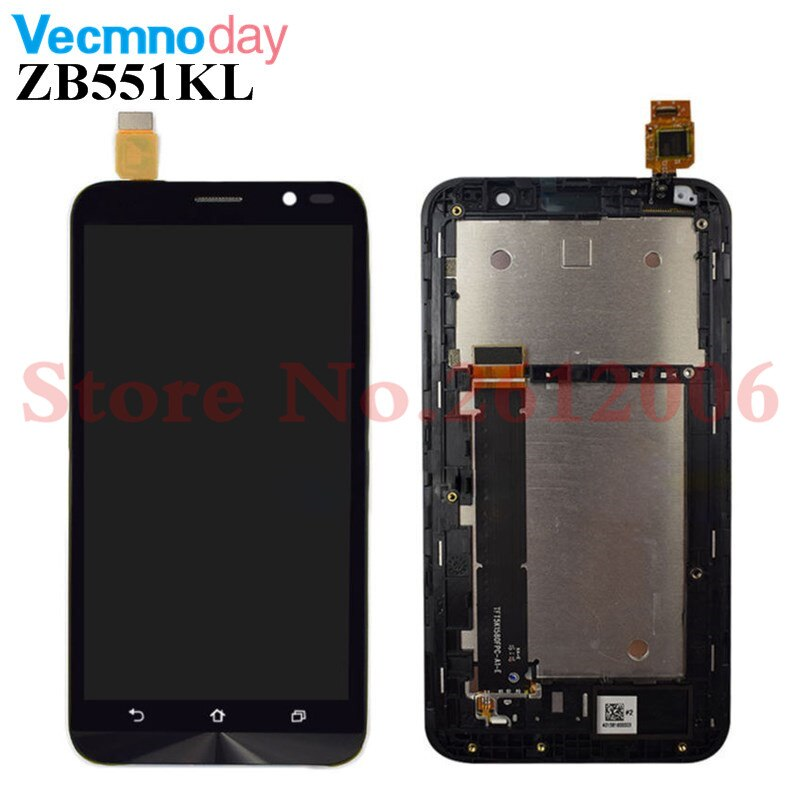 5.5 inch For Asus ZenFone Go TV ZB551KL X013D X013DA X013 LCD Display Touch Screen Digitzer Assembly LCD Replacement Parts
