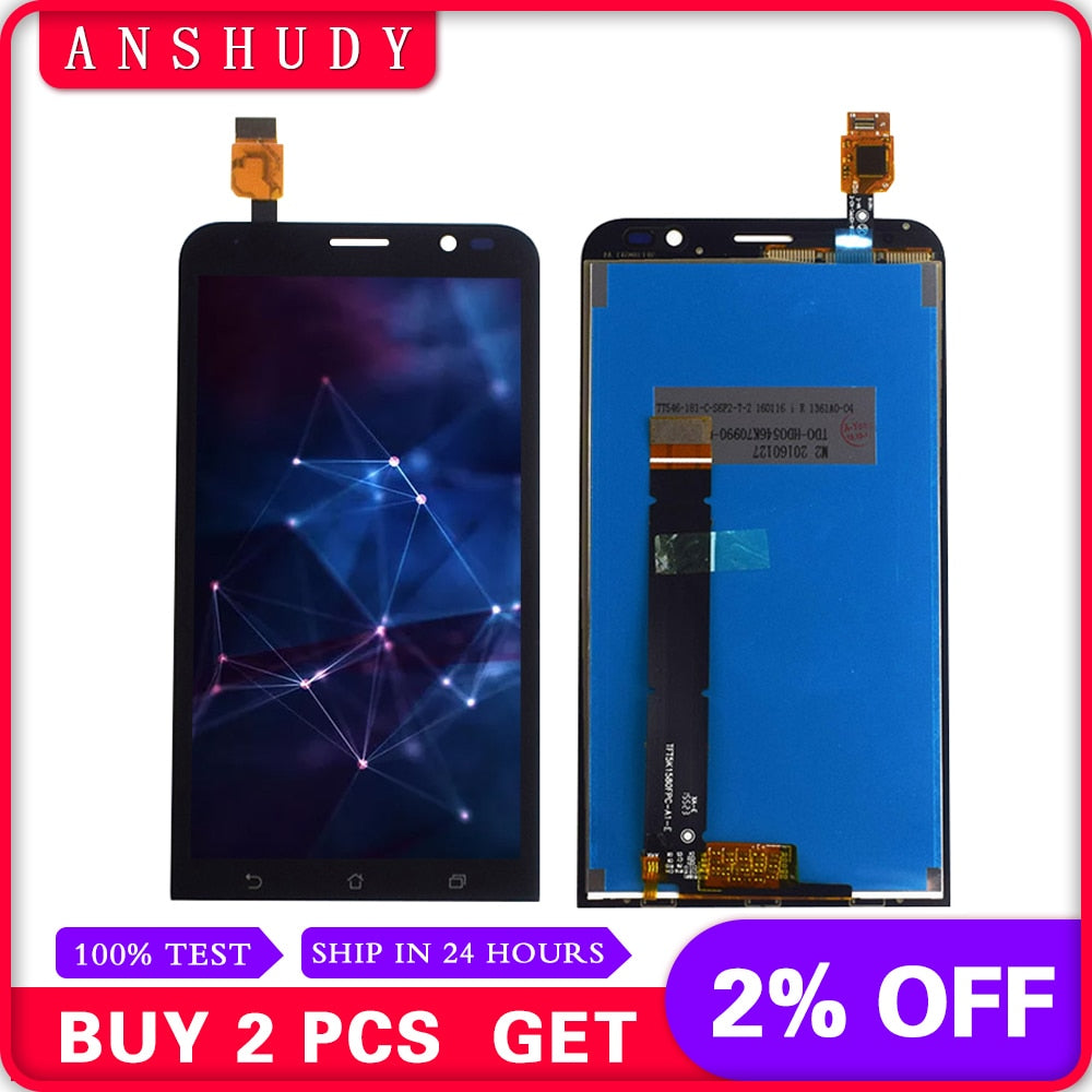 For Asus ZenFone Go TV ZB551KL X013D X013DA X01 LCD Display Panel Screen Module Monitor + Touch Screen Digitizer Sensor Assembly