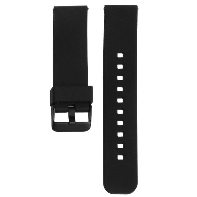 22mm Silicone Watch Band Watchband Strap for Motorola Moto 360 2nd Smart Watch