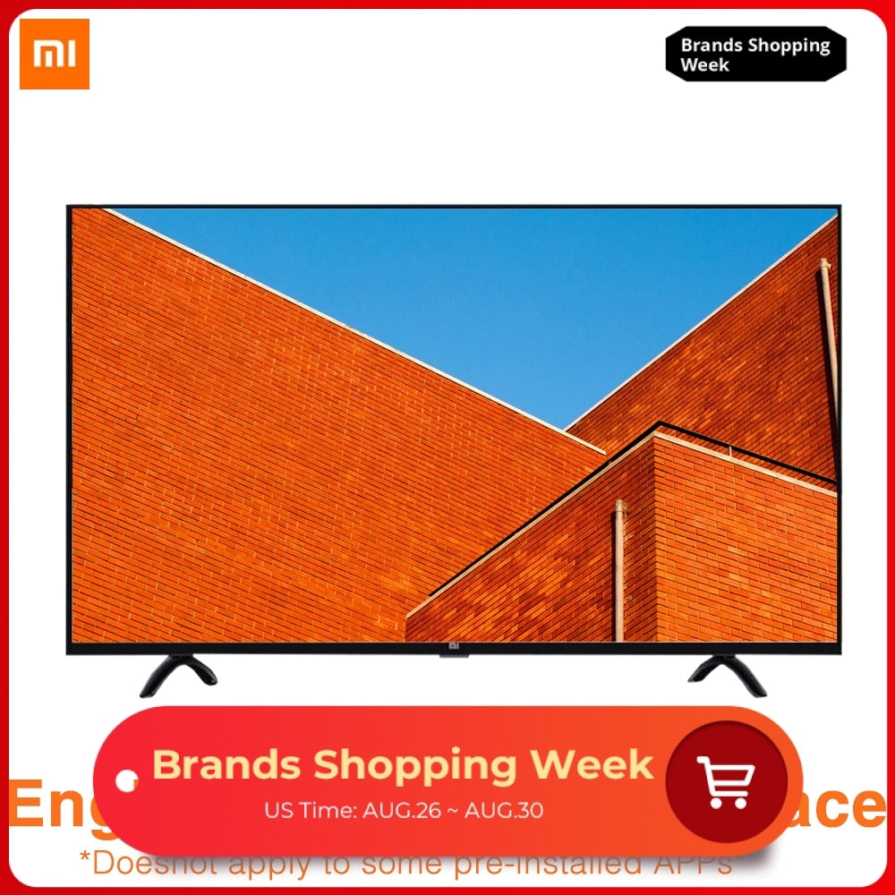 Xiaomi TV 4A 32 Inches 1366x768 Television 64 Bit Quad Core Artificial Intelligence 1GB 4GB Smart TV