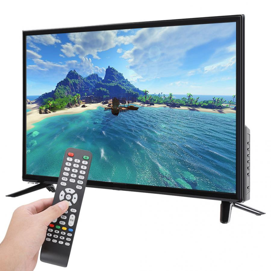 32In TV HD LCD TV 1366*768 HDR Real-time Conversion Television USB HDMI RF Antenna social sound technology 32'' large screen TV