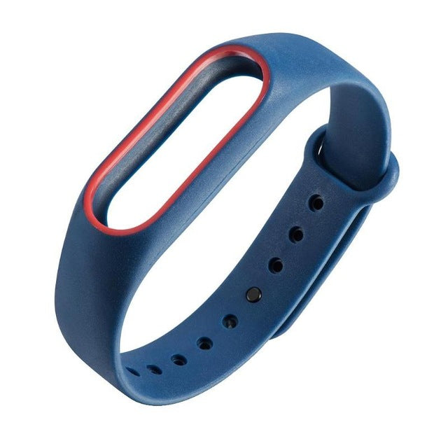 10 Color Silicone Wrist Strap Bracelet For Miband 2 Silicone 220mm Replacement Watchband Smart Band Accessories For Xiaomi Mi2