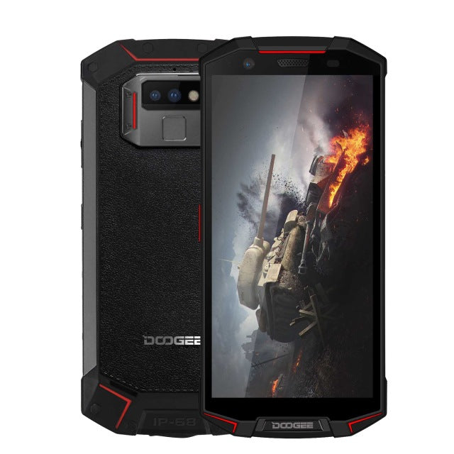 "DOOGEE S70 IP68 Waterproof Cell Phone 5.99"" 6GB RAM 64GB ROM Helio P23 Octa Core Android 8.1 16MP Camera 5500mAh NFC Smartphone"