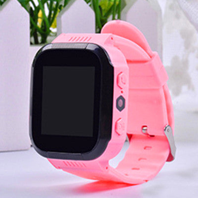 Smart Watch Kids Touch Screen Camera Positioning Children's Watches SOS Call Location Anti-Lost Reminder Watch Children Clock
