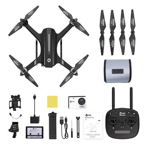 USA EU Stock Holy Stone HS700 GPS Drone 1080P Camera 1000 meters Flight Brushless Motor 5G Go Pro WIFI FPV GPS Selfie Quadcopter