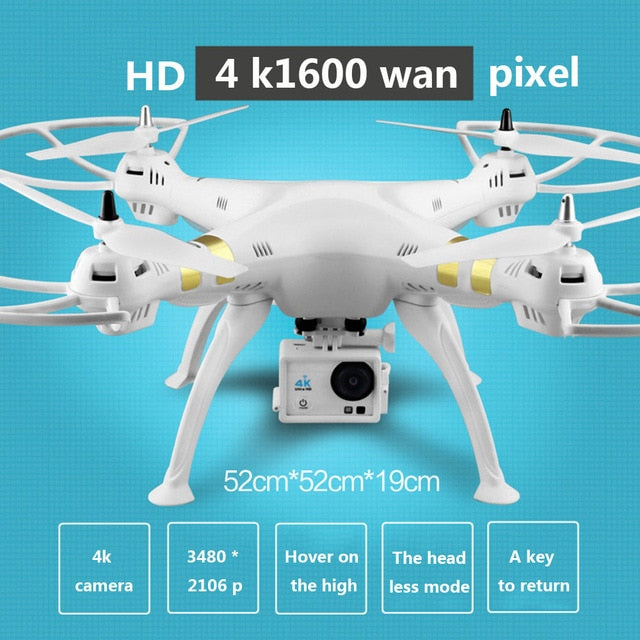 X8 drone professional dual GPS quadcopter WIFI real-time image transmission brushless motor 4K HD aerial drone RC helicopter