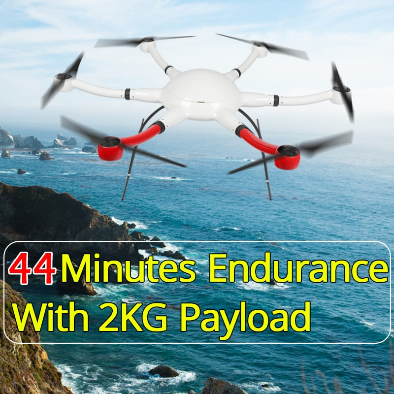 YD6-1000S RTF HEXACOPTER almost read to fly RC drone for long time flight DJI N3 flight controller lightbridge2