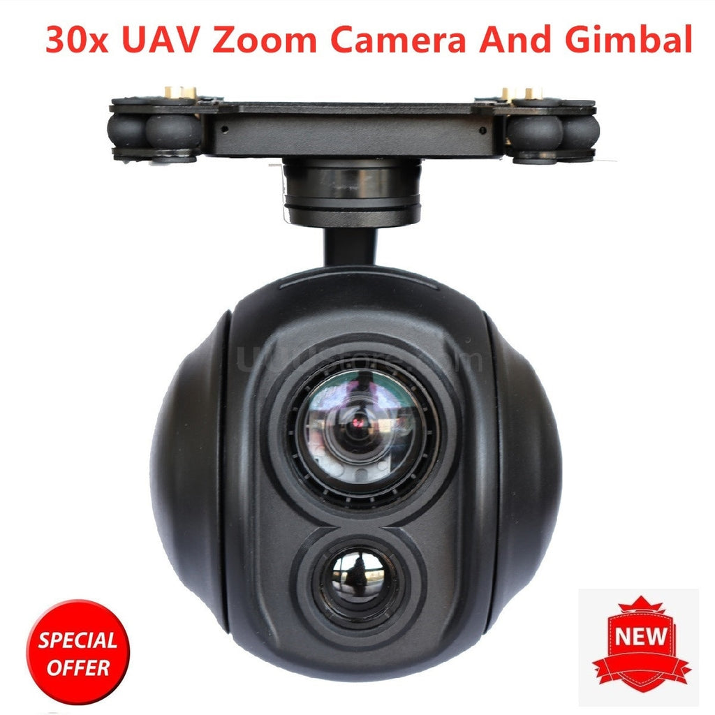30x Zoom Dual Sensor of Gimbal Camera thermal infrared camera drone for UAV FPV RC Drones