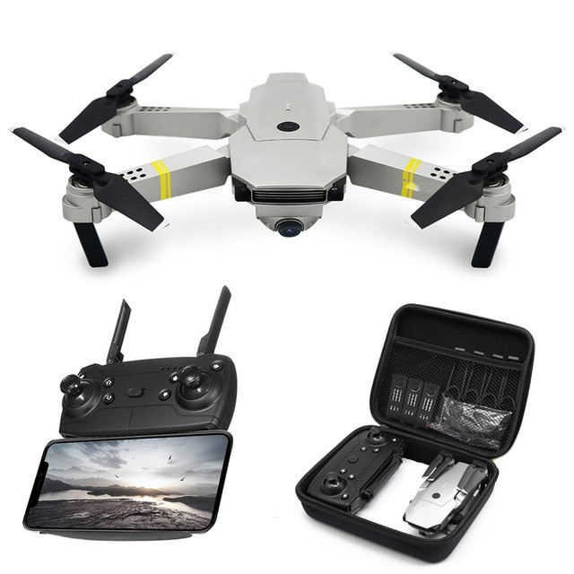 High Quality RC Helicopter Mini Drone no Camera RC Quadrocopter Drones with Camera HD High Hold Mode Foldable Arm RC Drone RTF