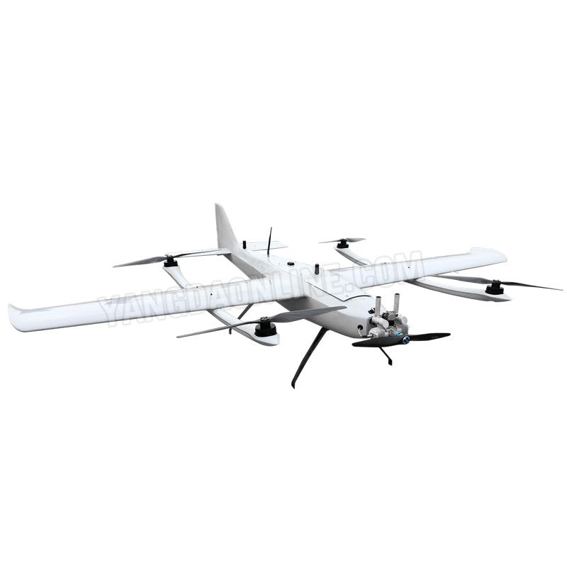 Hybrid Fixed Wing VTOL drone 4 to 8hour endurance long range uav for inspection survey aerial photography agriculture search