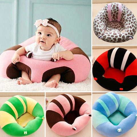 Baby Support Seat Plush Soft Sofa For 0-3 Months Baby - Onezea