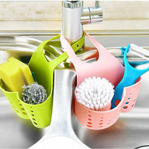 Portable drain Basket Bag for kitchen sink or bathroom - Onezea