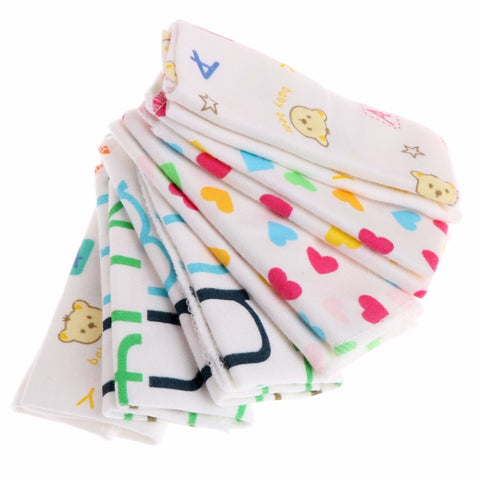Set of 6 Baby burp cloth/ wash cloth - Onezea