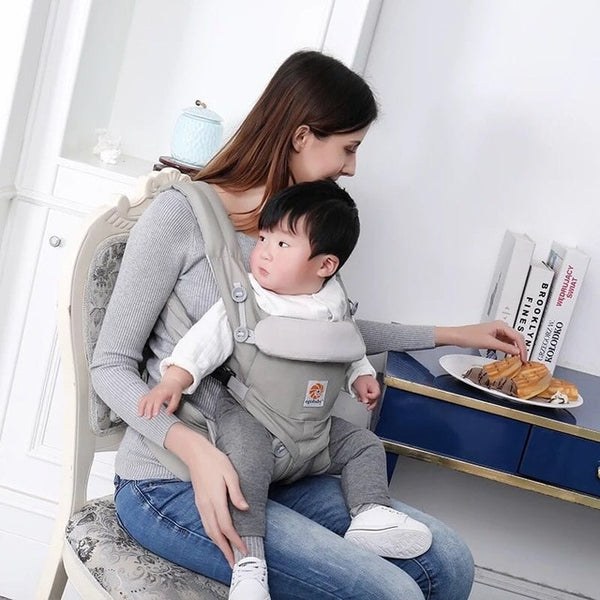Multi-functional Backpack Baby Carrier with bucket seat and waist band - Onezea
