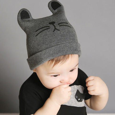 Cotton knitted Beanie Caps for babies - Onezea