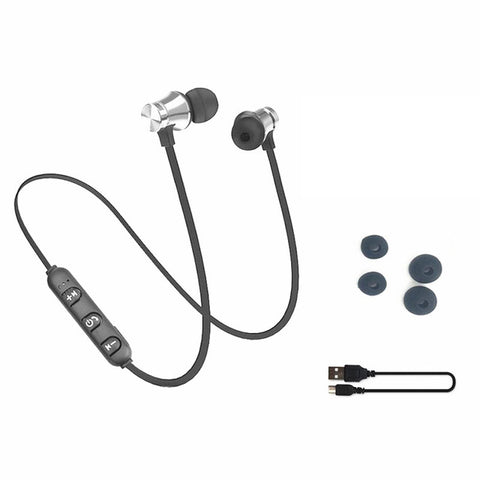 Bluetooth Earphone Headset Sweat proof sports with Charging Cable & Build-in Mic - Onezea