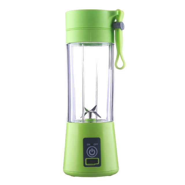USB Rechargeable Smoothie Maker Blender Machine Sports Bottle - Onezea