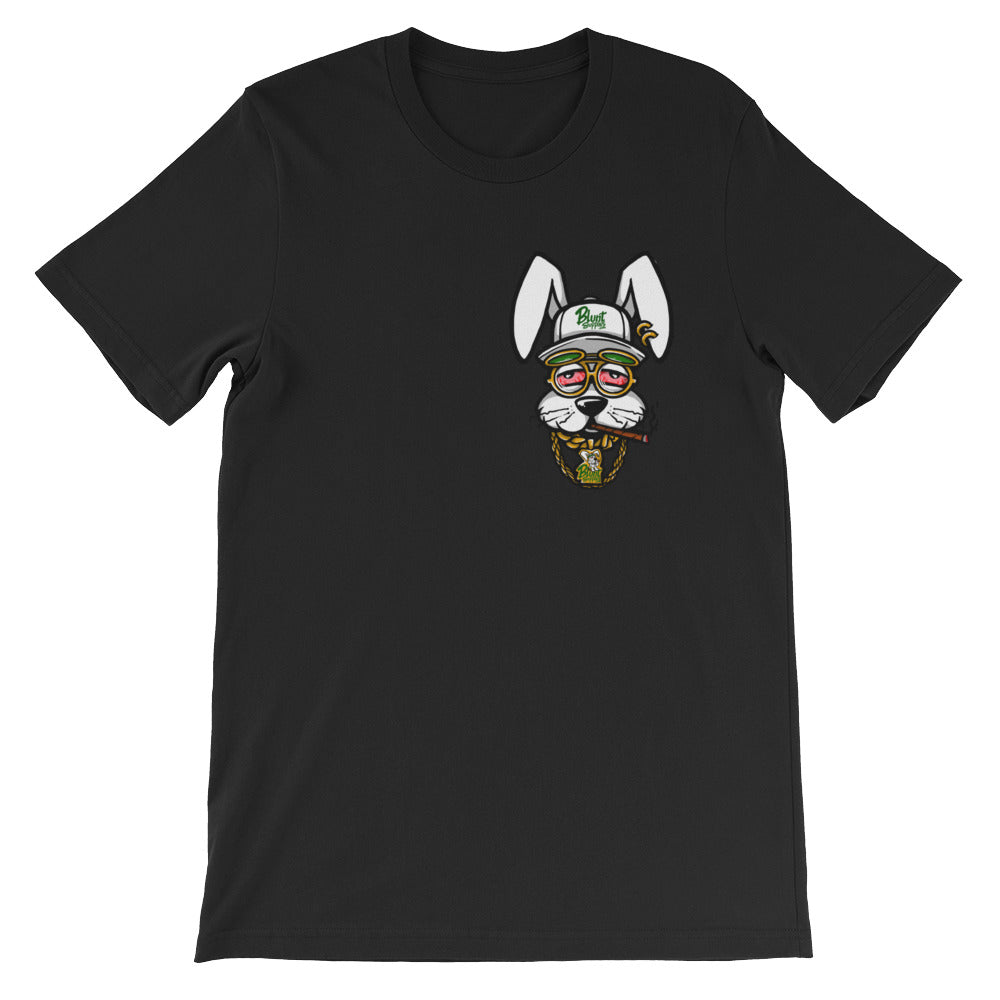 Blunt Supplies Mascot Black Short-Sleeve T-Shirt