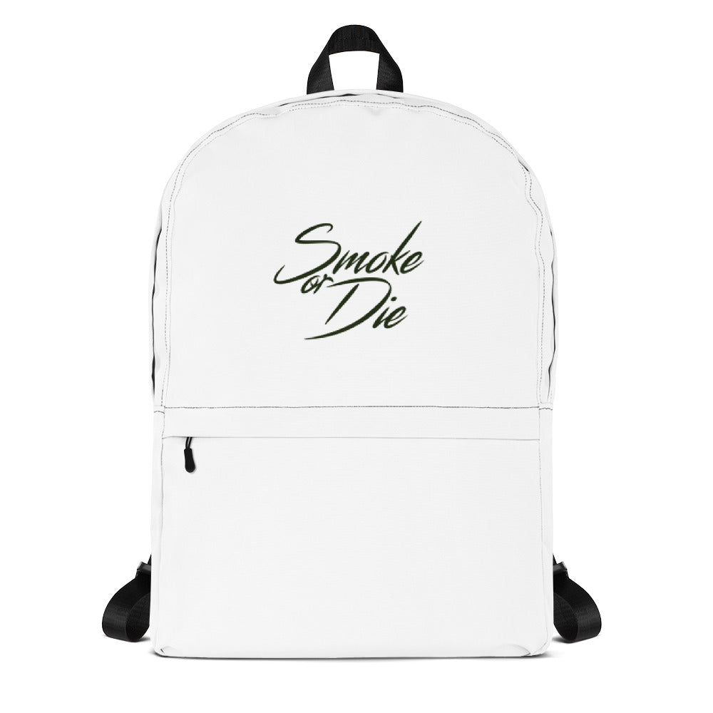 "Blunt Society ""Smoke or Die"" Water Resistant Backpack"
