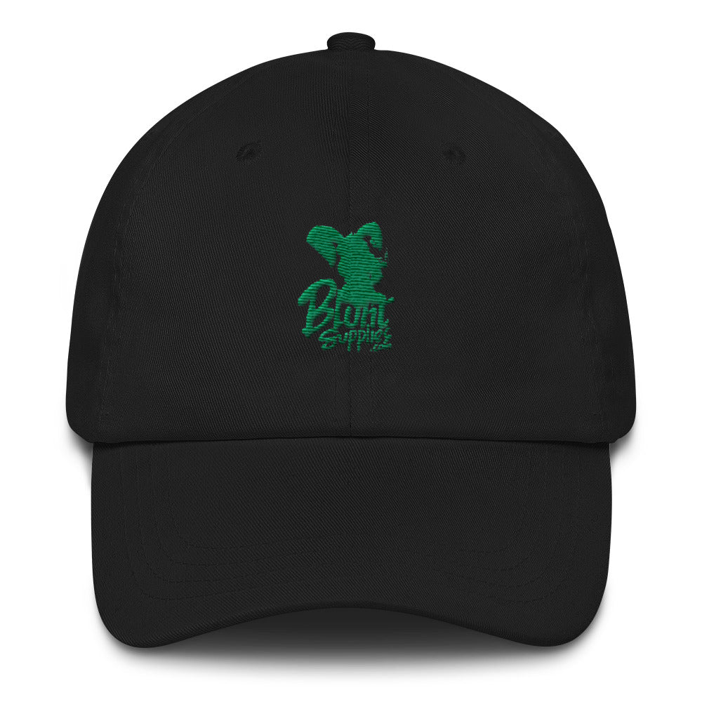 Blunt Supplies Uncle Drew Style Hat (Black and Green Print)