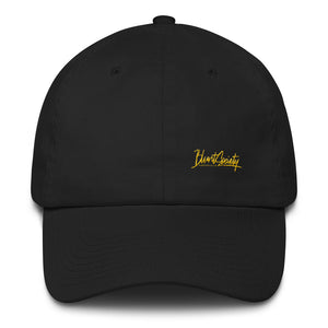 Blunt Society Collection Black Hat W/ Yellow