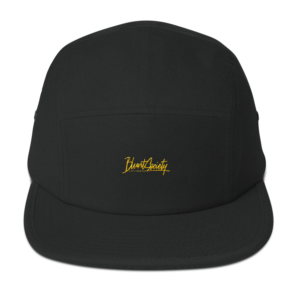 Camper Hat Blunt Society Small Logo (Yellow Gold)