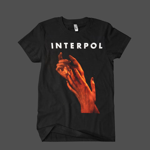 Hands Jan/Feb '15 Tour Black Mens T-Shirt