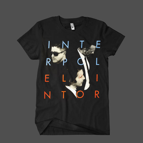 El Pintor Summer Tour '15 Black Mens T-Shirt