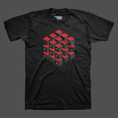 Cubed Black T-Shirt