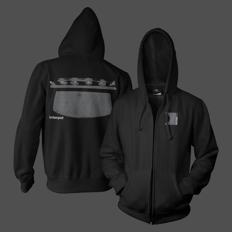 Punk Lights Black Hoodie