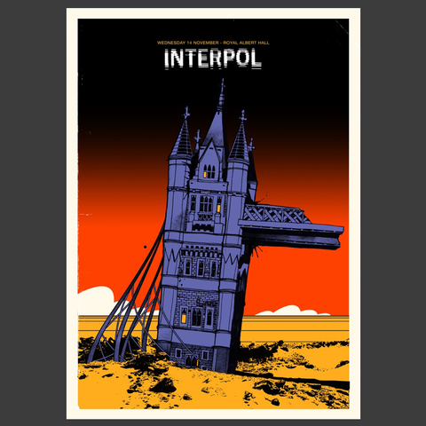 London 1 – Limited Edition Screen Print