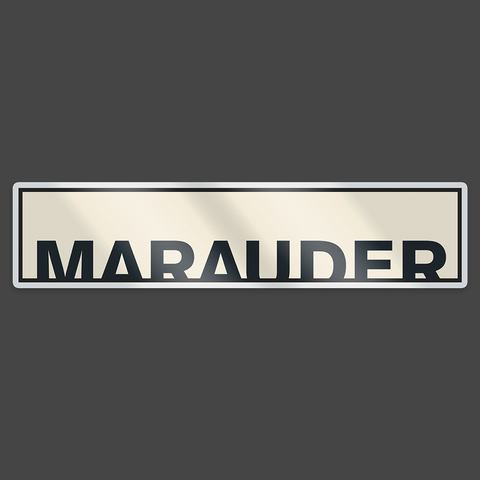Marauder Enamel Badge