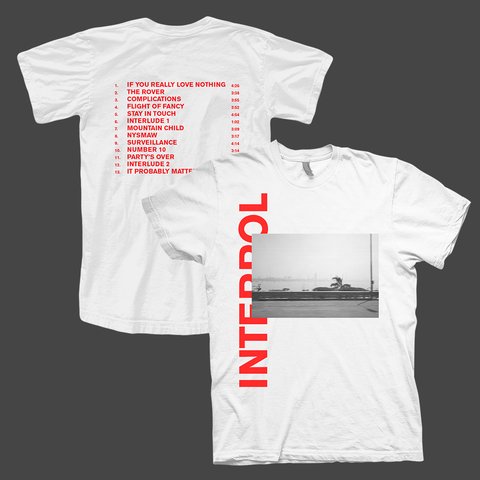 Mono Photo White T-Shirt