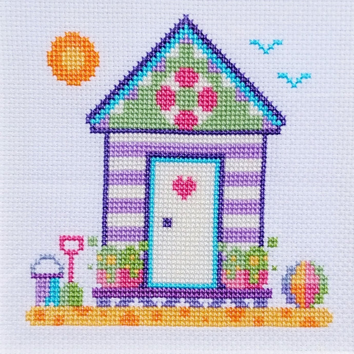 Free Cross Stitch Chart 'Beach Scenes' 2 of 3