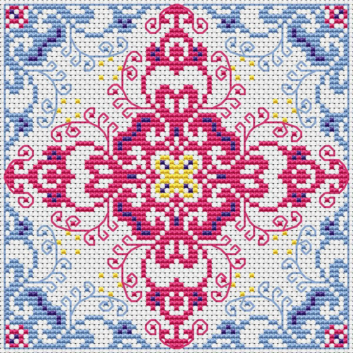 Free Swirly Thing Cross Stitch Chart