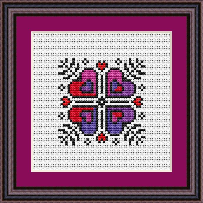 Valentine's 2020 Free Cross Stitch Chart