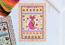 Load image into Gallery viewer, Autumn Cross Stitch Kit