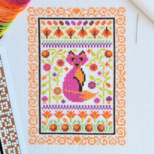 PDF Pattern for Autumn Mini Sampler