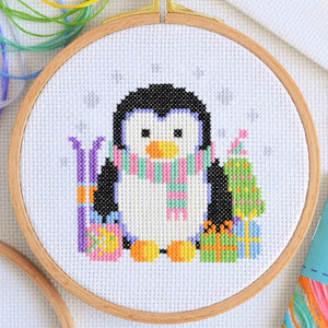 Cross Stitch for Beginners Penguin