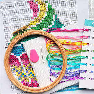Cross Stitch for Beginners Cupcake