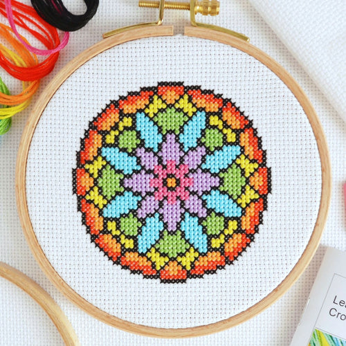 Cross Stitch for Beginners Flower